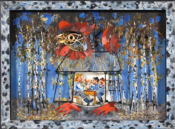 """KRAUSS, GerDurchmesser: """"Die Hütte der Baba Yaga"""". - Foto 1"""