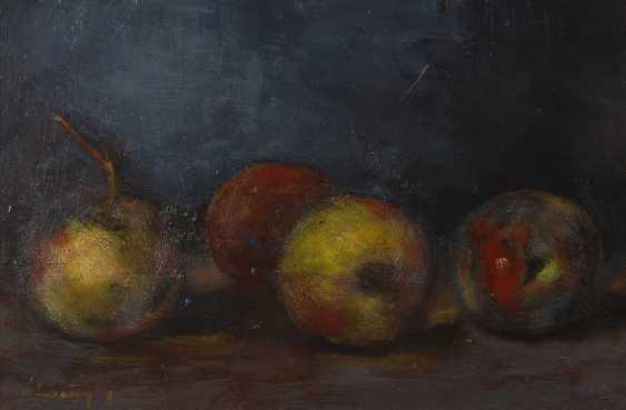 LINGEN: Stillleben mit Äpfeln. - Foto 1