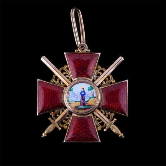 The order of St. Anne 2nd degree
