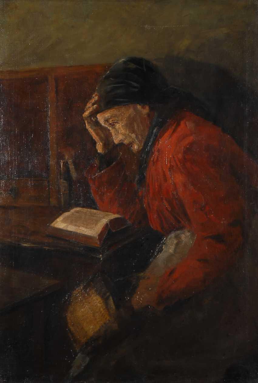 MonogrammisTiefe: Lesende Frau. - Foto 1