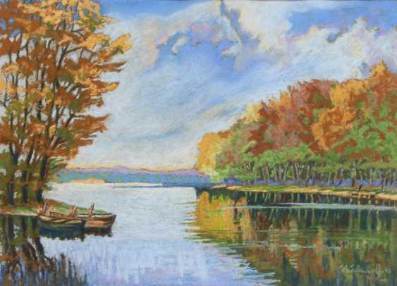 "NIEDENHOFF: ""Moorlake im Herbst"". - Foto 1"