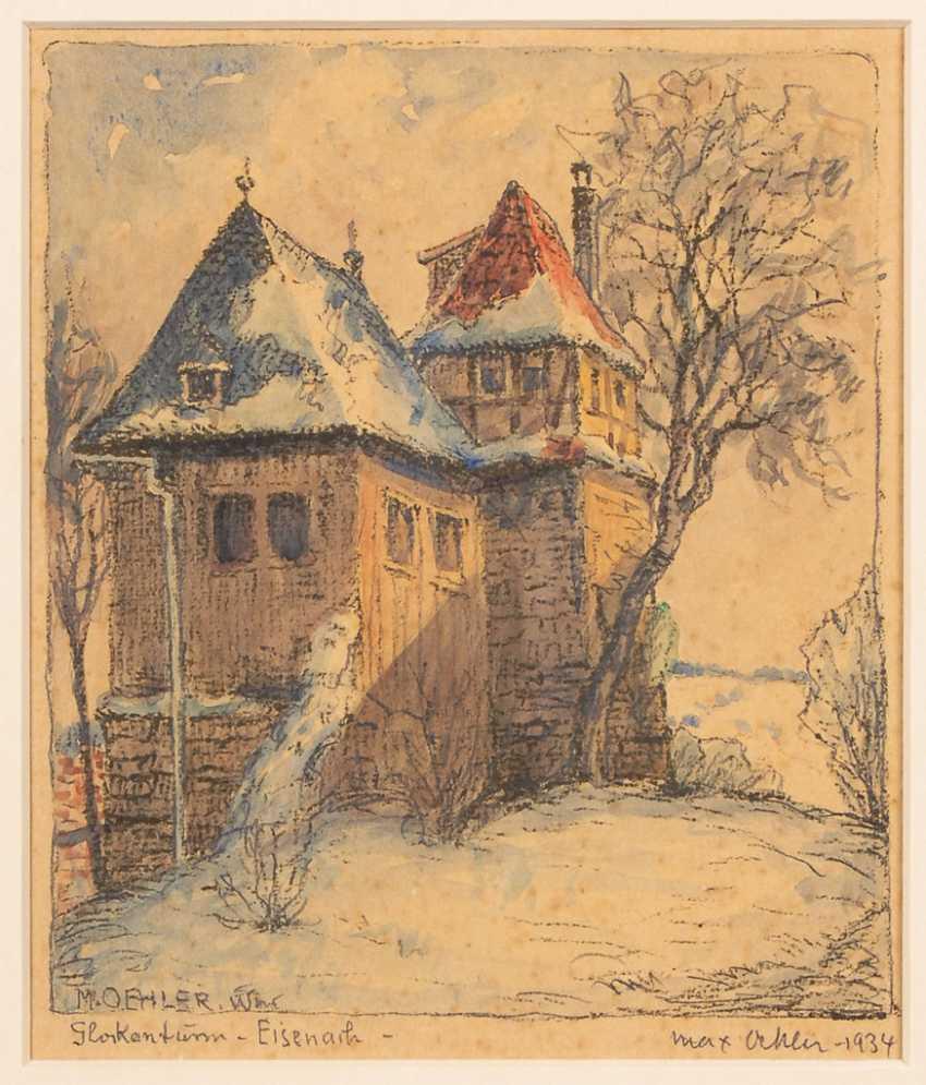 OEHLER, Max: Glockenturm Eisenach. - Foto 1