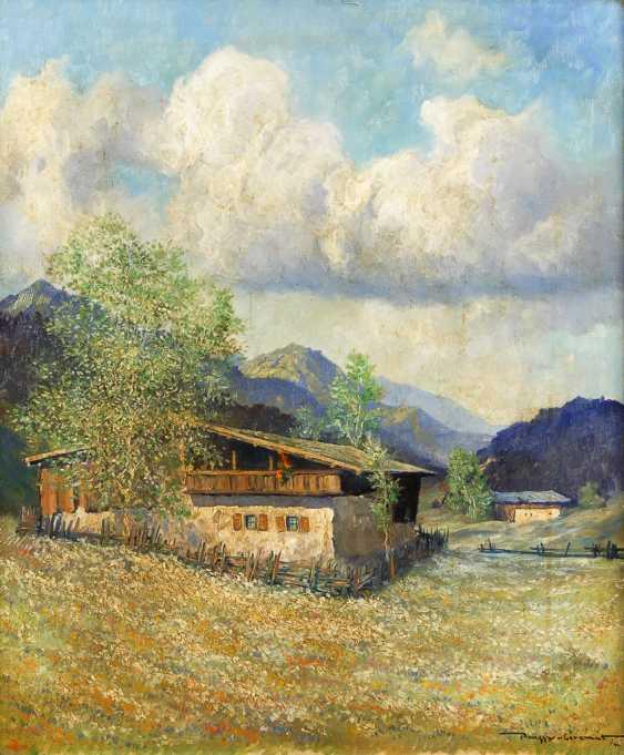 PASSY-CORNETiefe: Alpenhäuser im Sonnenschein. - Foto 1