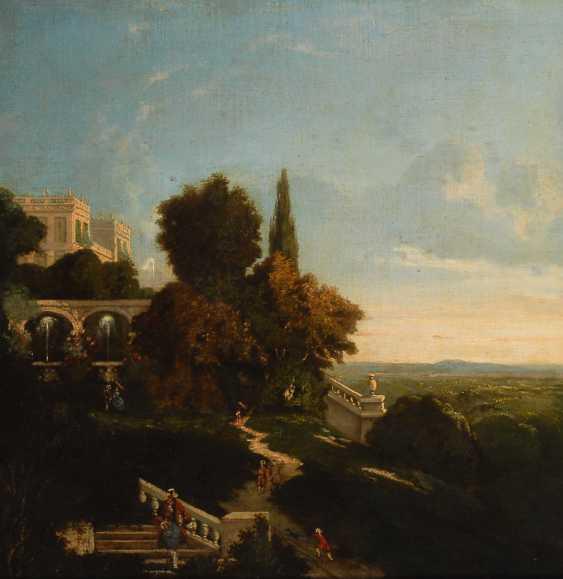 PFANHAUSER, Franciszek: Villa in der Toscana. - Foto 1