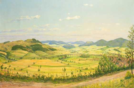 PFENNIG, Hermann: Hessische Landschaft. - photo 1