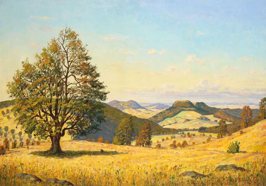 PFENNIG, Hermann: Hessische Landschaft. - Foto 1