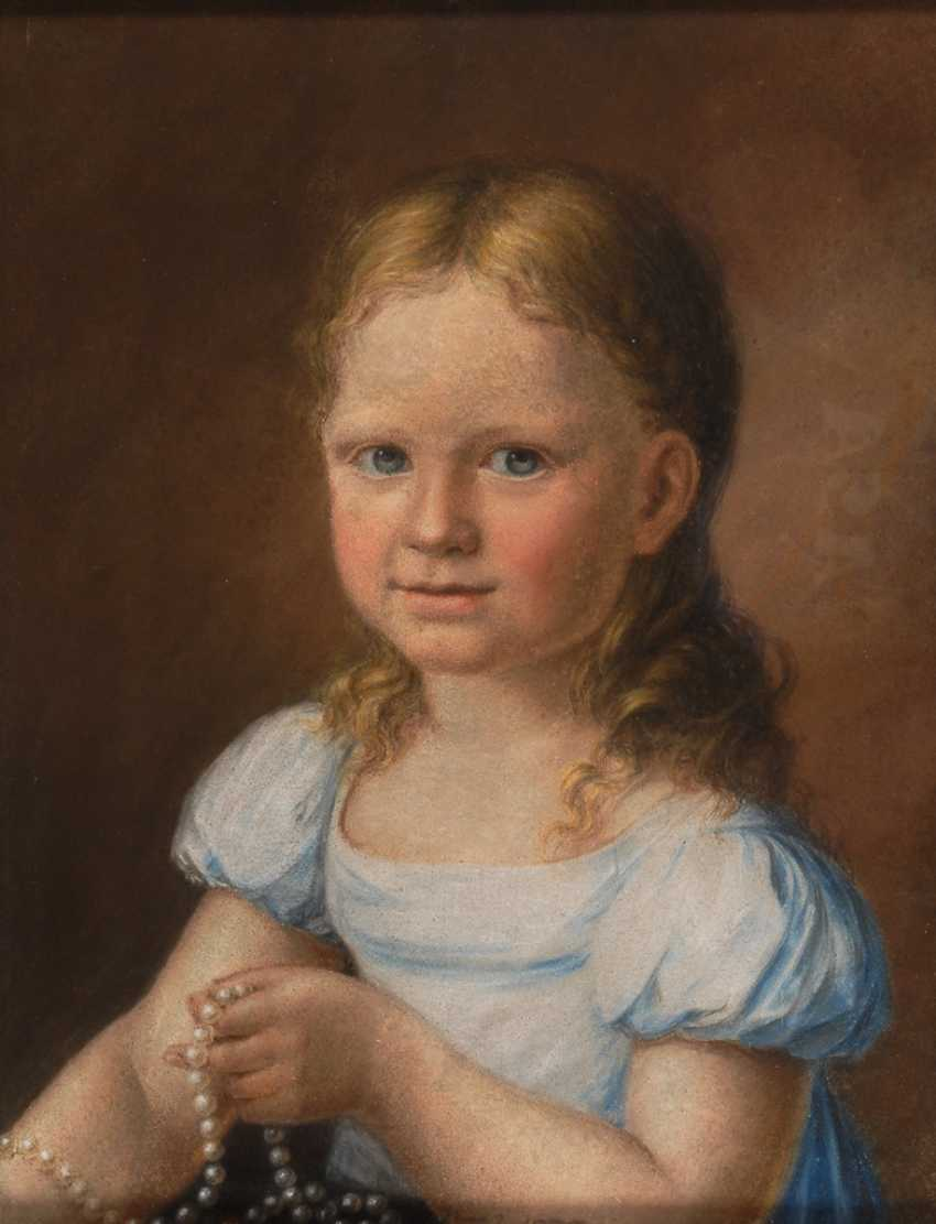 Portrait painter 1. Half of the 19th century. Year Of The Dog Depth: Children-Portrait. - photo 1