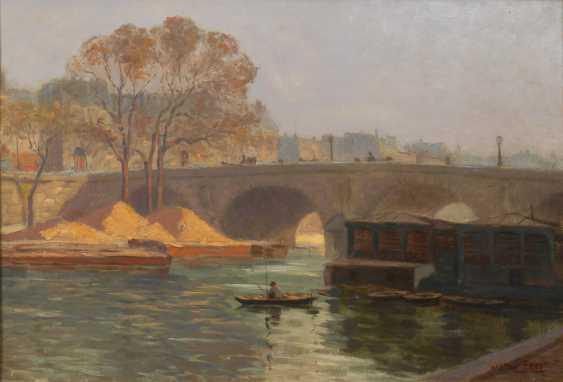 PROST, Gaston: Paris mit der Pont Neuf. - Foto 1