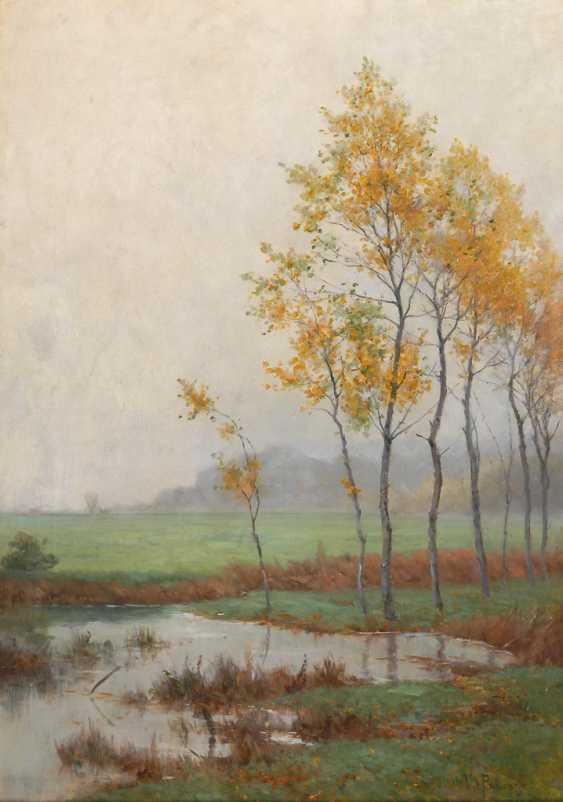 PUHONNY, Victor: Bachlandschaft im Nebel. - Foto 1