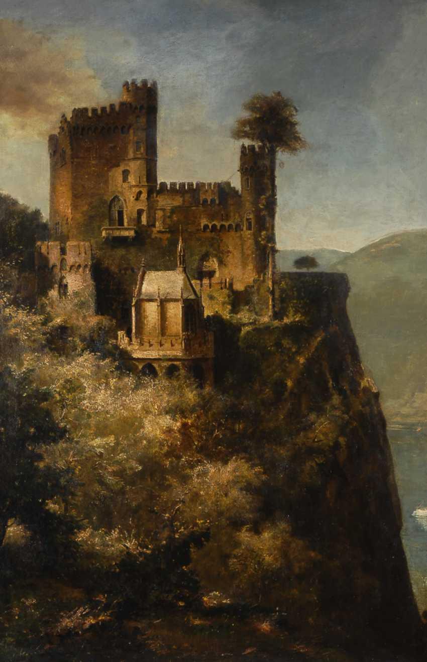 """REUTER, Fritz: """"Burg Rheinstein Assmannshausen"""". - photo 1"""