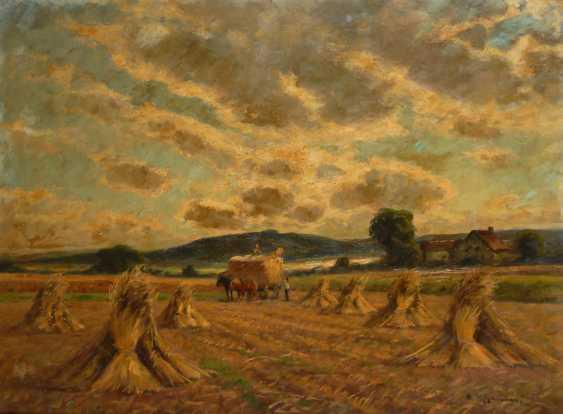 RHEINERT, Adolf: Erntelandschaft. - Foto 1