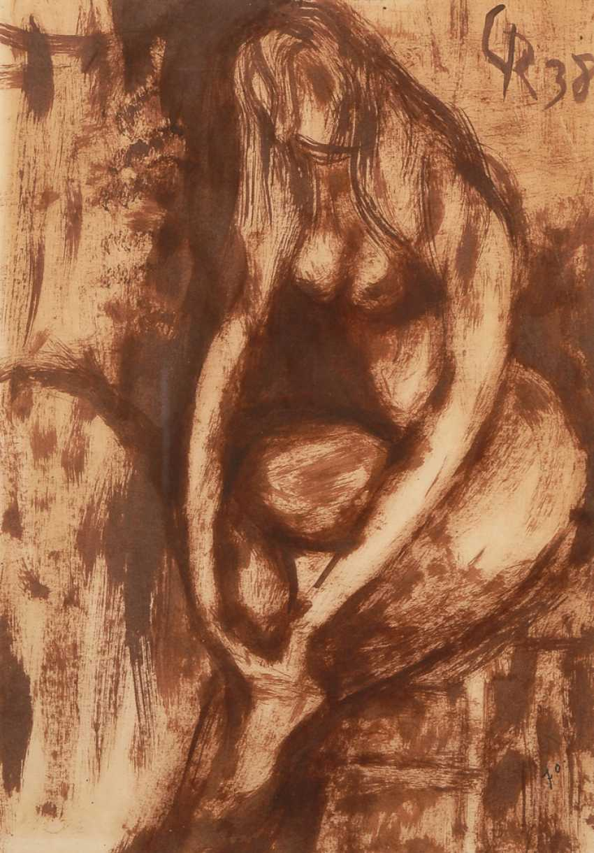 ROHLFS, Christian: Seated woman current - photo 1