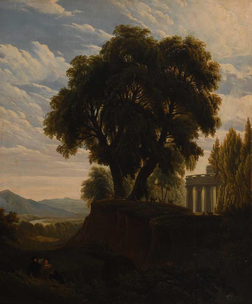 Romantiker: Arkadische Landschaft. - Foto 1