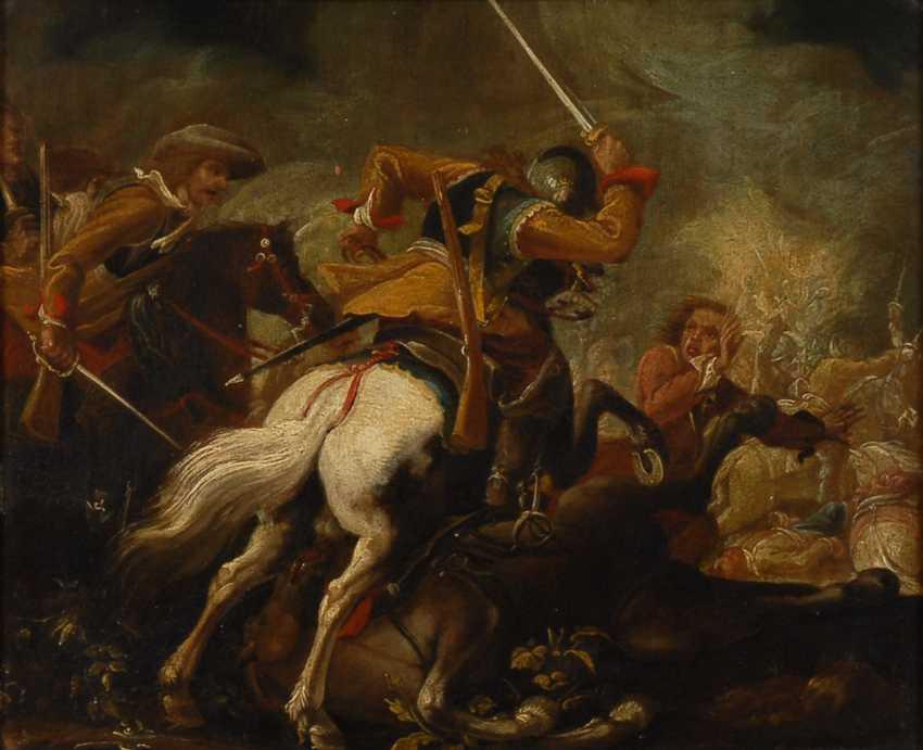 RUGENDAS, Georg Philipp zugeschrieben: Schlachtgetümmel. - Foto 1