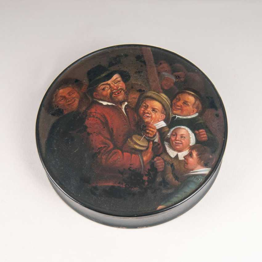 """Stobwasser box with a peasant genre scene after Frans Hals"" - photo 1"