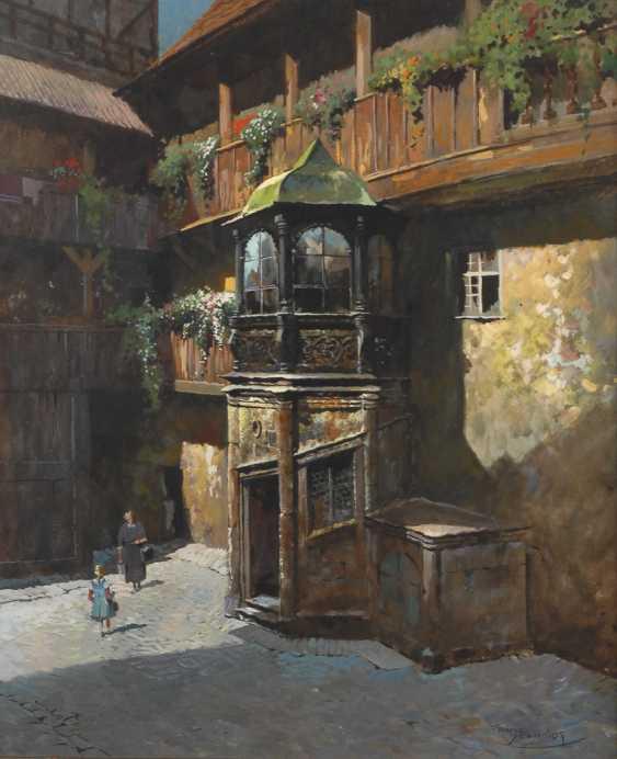 """SCHMIDT, Franz: """"Kutscherhof in Nürnberg"""". - photo 1"""