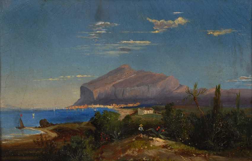 SEPP, A.: Blick auf Capri. - Foto 1