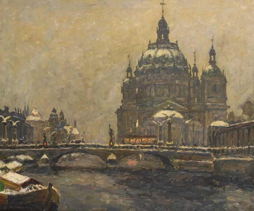 SEWOHL, Waldemar: Berliner Dom und Friedrichsbrücke. - Foto 1