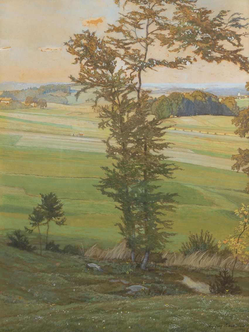 SIECK, Rudolf: Weite Landschaft. - Foto 1