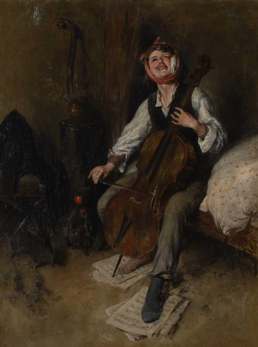 SPITZER, EmanueLänge: Junger Cellospieler mit Zahnschmerzen. - photo 1