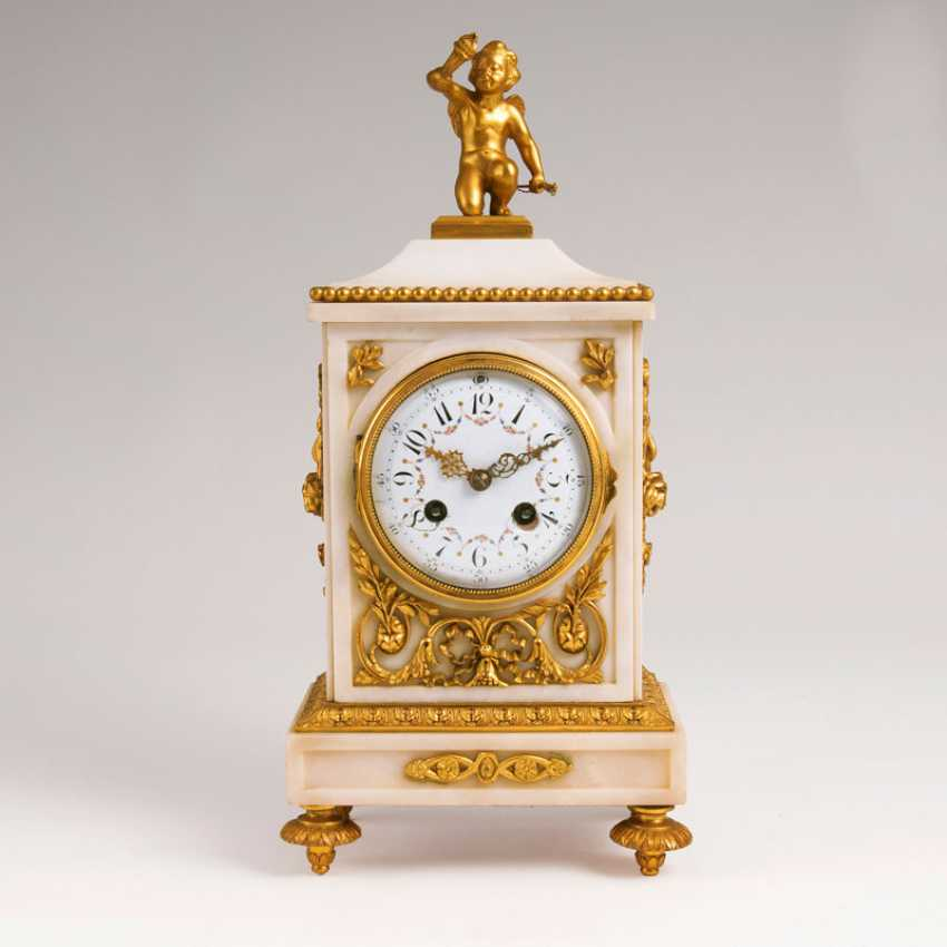 ''Napoleon III Pendule mit Amor-Figur'' - photo 1