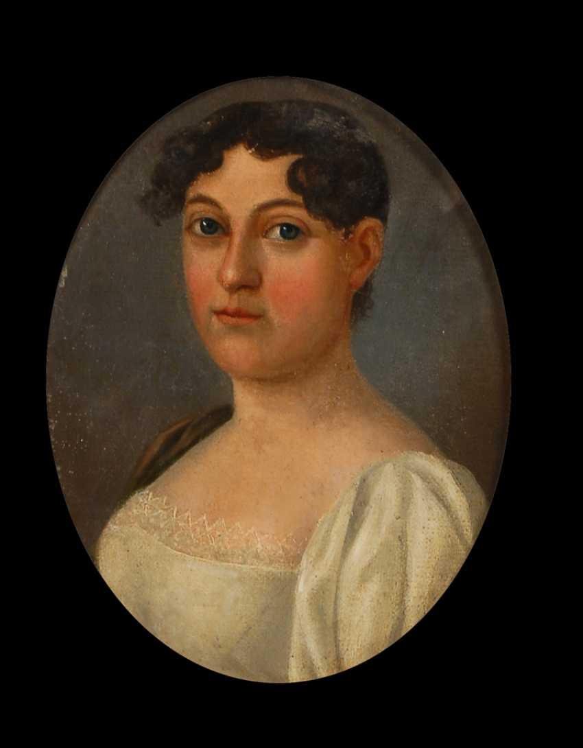 UnsignierTiefe: Damenporträt. - Foto 1