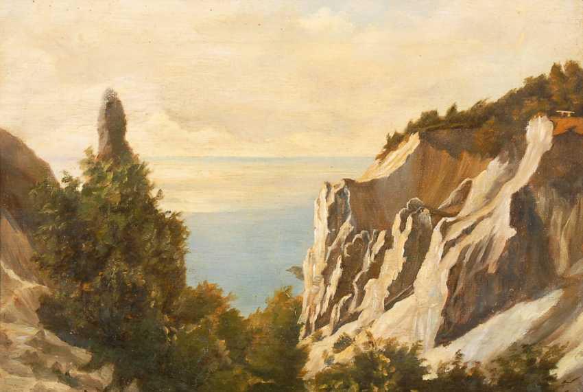 Unsignier depth: Cretaceous rocks in the sunshine. - photo 1