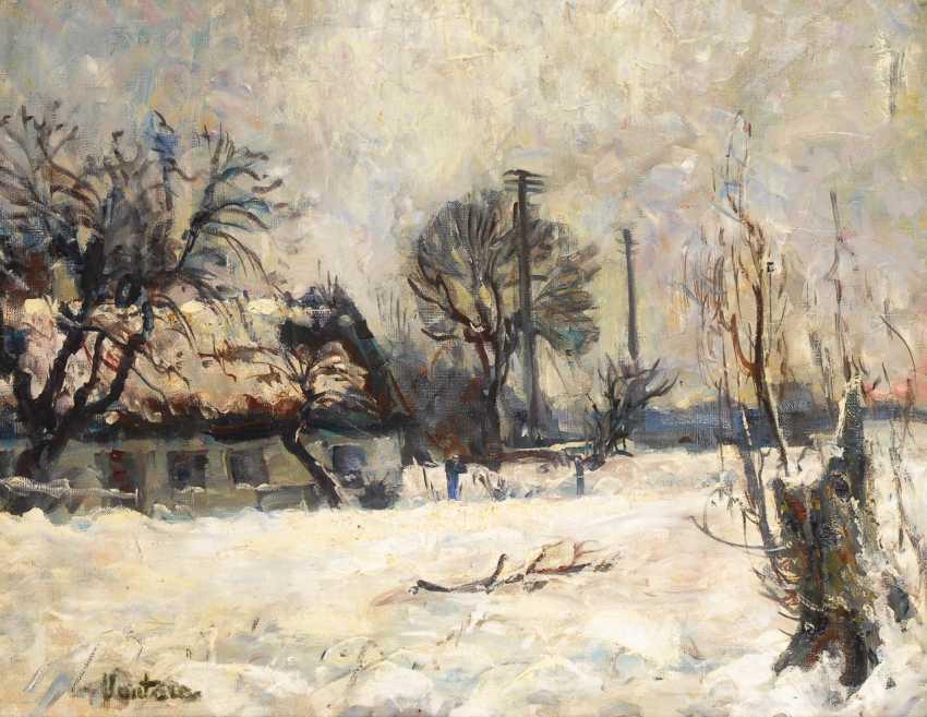 VANTORE, Mogens: Winterlandschaft. - photo 1