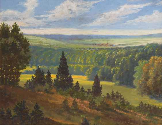 VOLKMANN, Hans Richard von: Sommerlandschaft. - Foto 1
