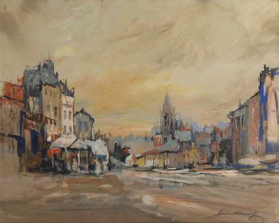 WECKAUF, Heinrich: Marktplatz. - Foto 1