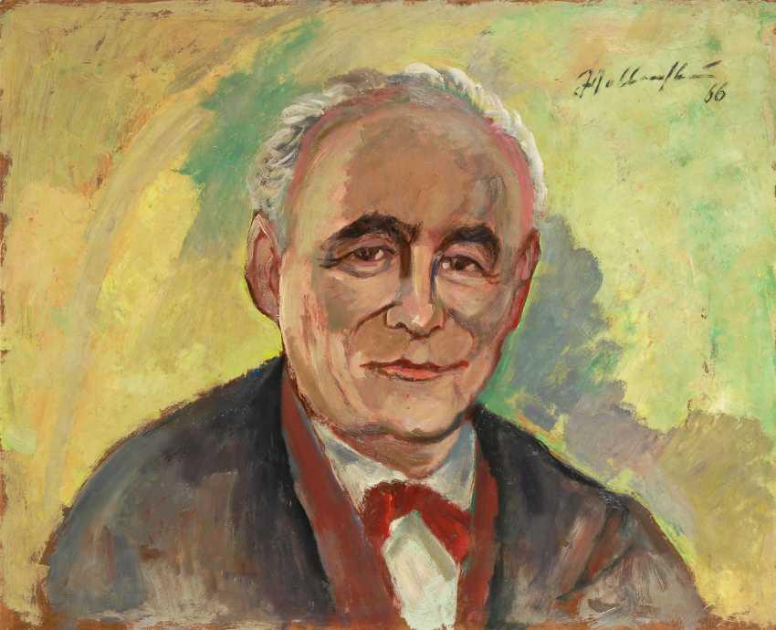 WELLENSTEIN, Walter: Porträt Prof. Edgar Wedepohl. - Foto 1