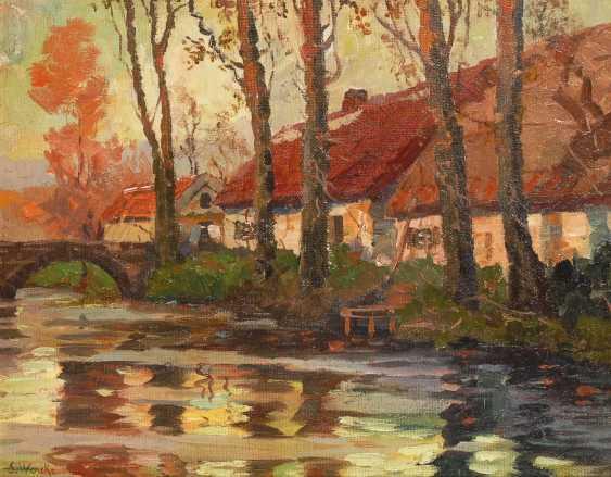 WENCKE, S.: Häuser am Kanal. - Foto 1
