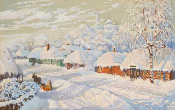 Winterliche Dorfansicht. - Foto 1