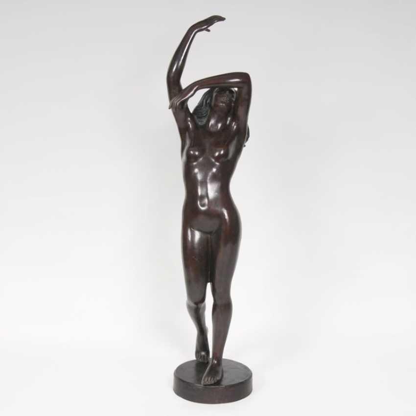 "Lancini ""Large Bronze sculpture, 'Dancing female Nude""' - photo 1"