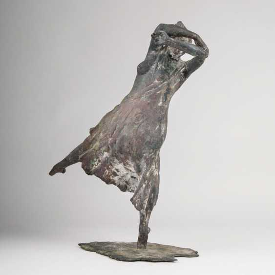 """Jürgen Weber """"Bronze Sculpture 'Dancer""""' - photo 1"""