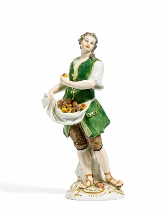 Ausrufer mit Äpfeln - Foto 1