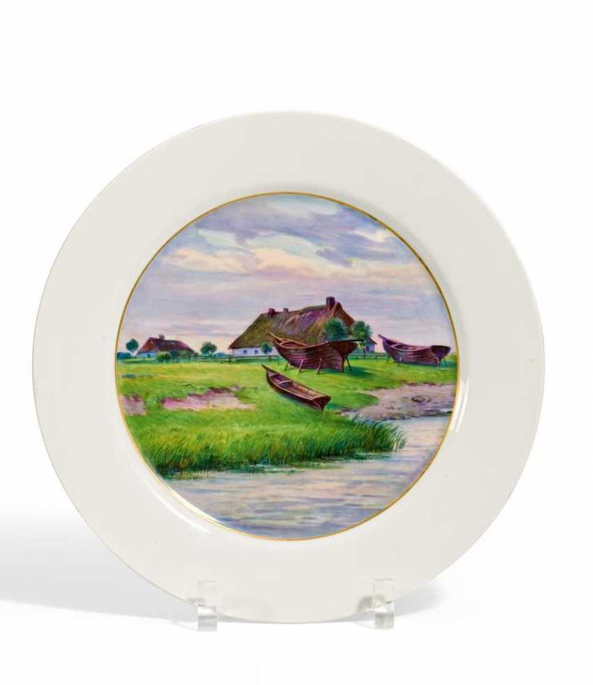 Plate with seascape - photo 1