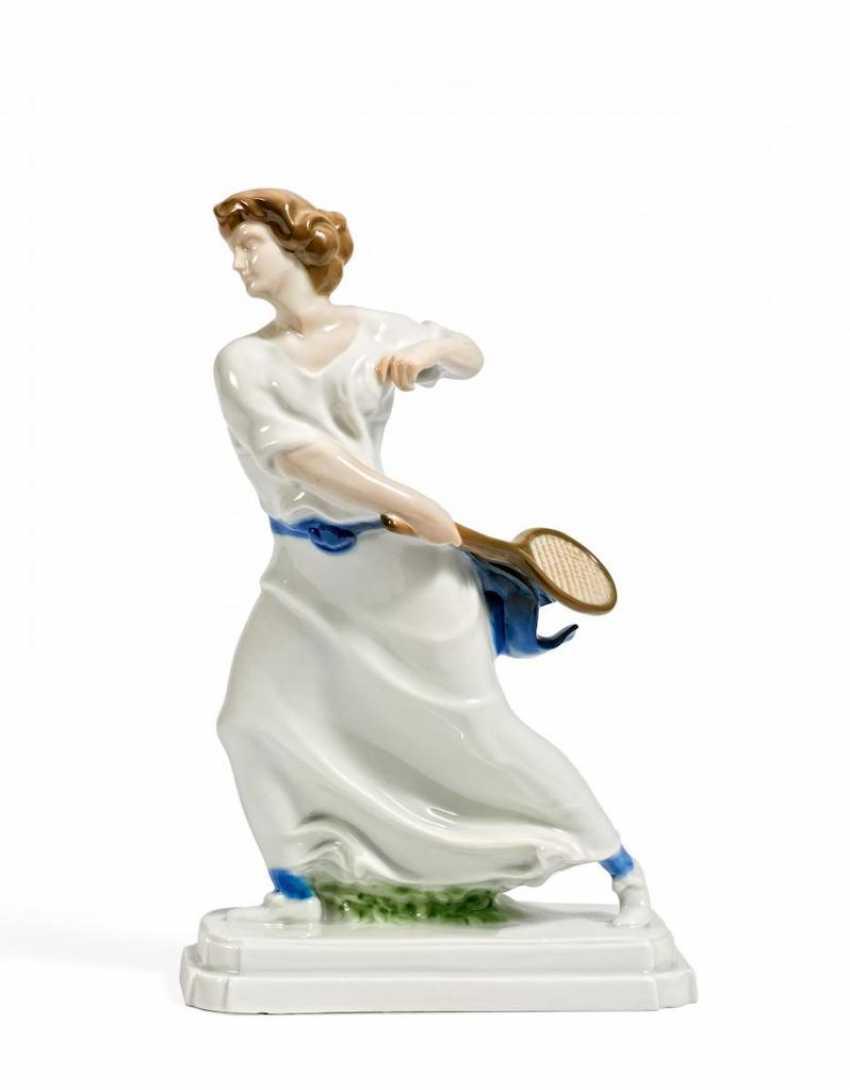 Tennisspielerin - Foto 1