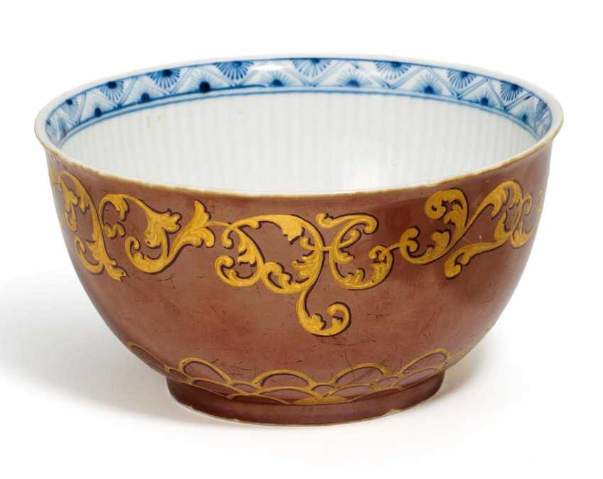 Kumme with luster glaze and gold decoration - photo 1
