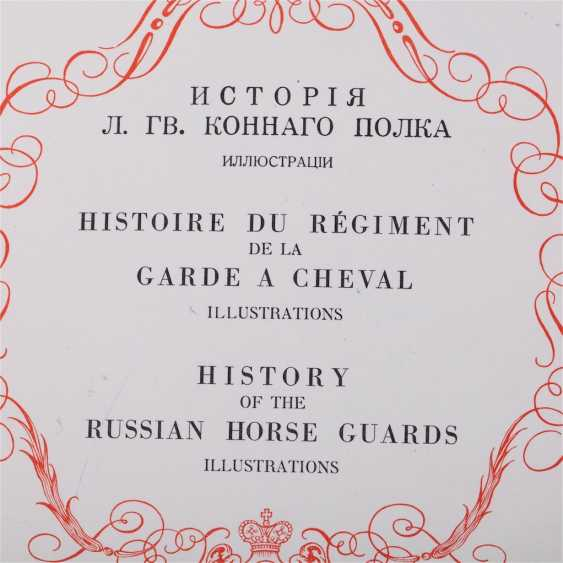 "The album ""the history of the Life Guard Horse regiment 1730 – 1930"" - photo 4"