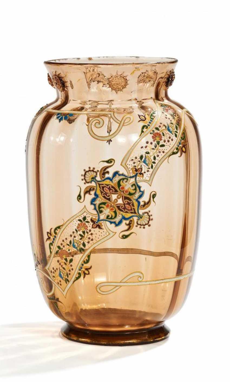 Large Vase with Oriental decoration - photo 1