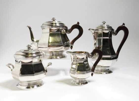 Vierteiliges Kaffee- und Teeservice - Foto 1