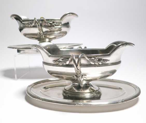 Pair of sauce boats on fixed rate - photo 1