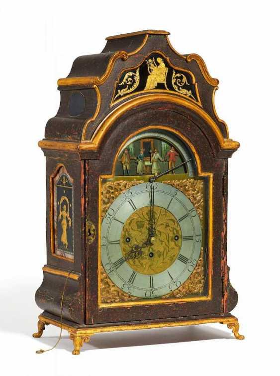 Bedeutende Klassizismus Stutzuhr mit Automat und Spielwerk - Foto 1