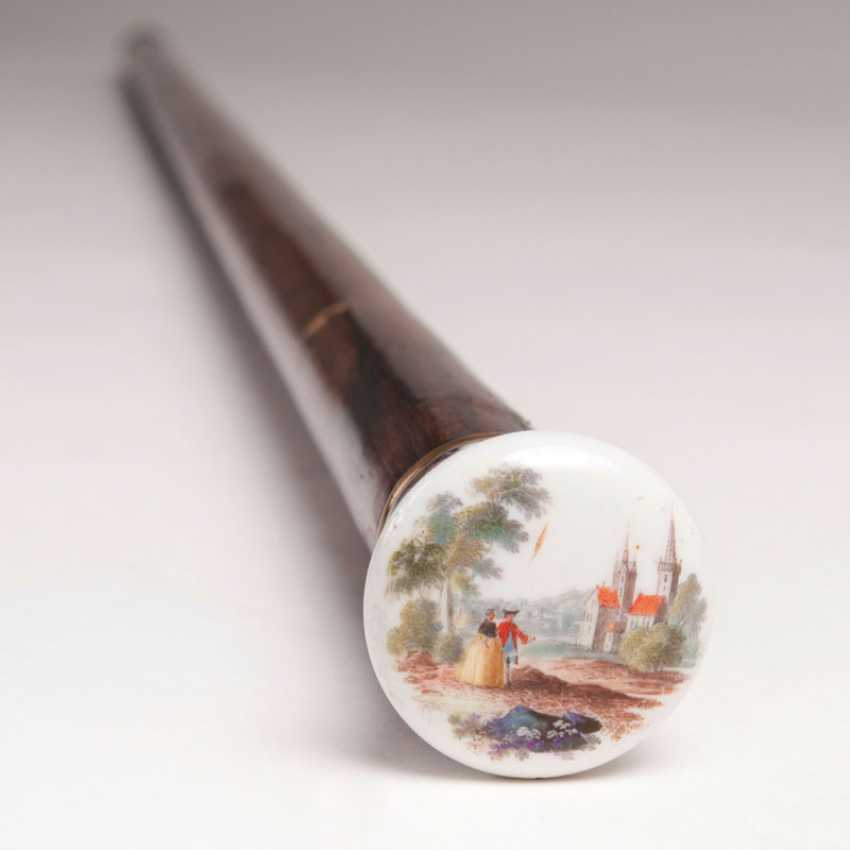 """Walking stick with Meissen porcelain knob"" - photo 1"