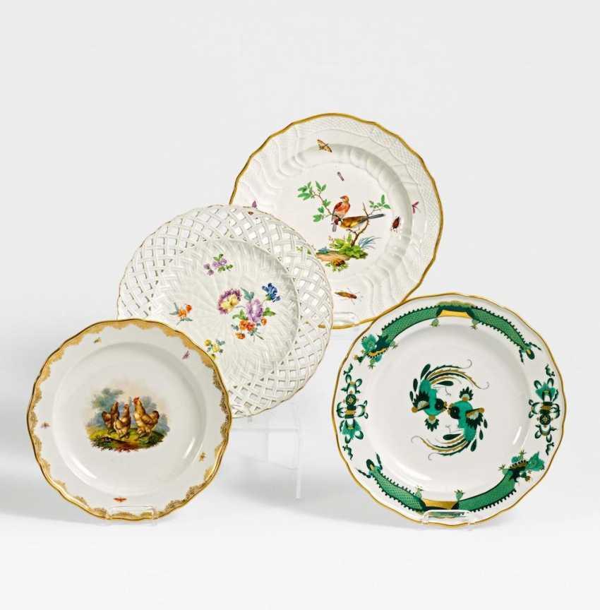 4 Teller verschiedene Dekore - Foto 1