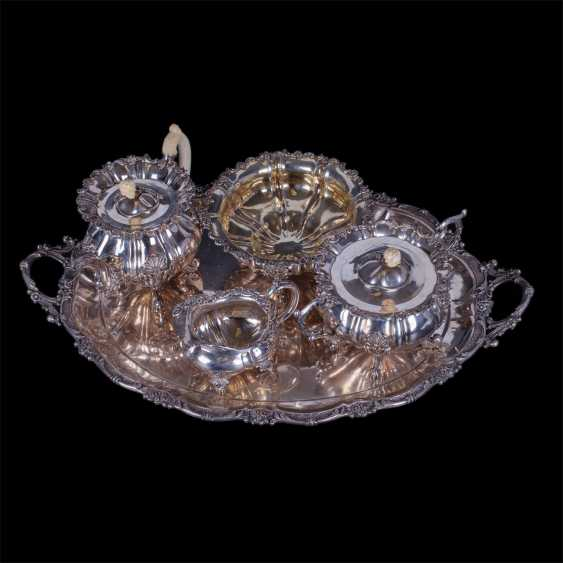 Silver set of 5 items. - photo 2