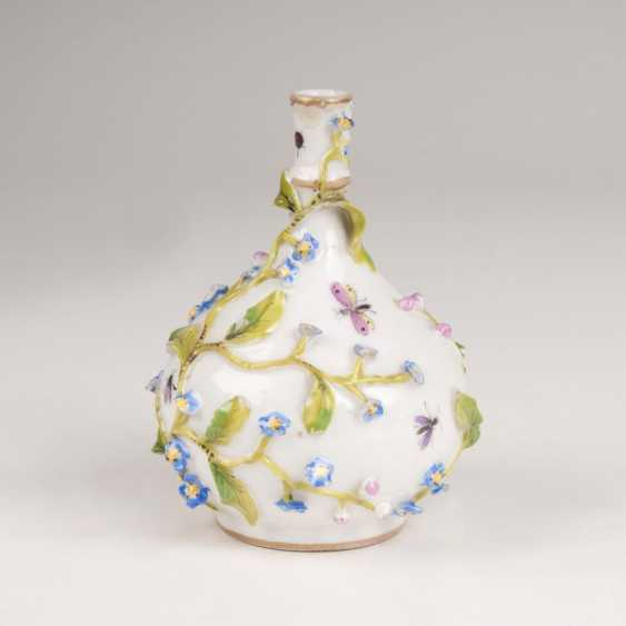 """Miniature Vase with plastic flowers"" - photo 1"