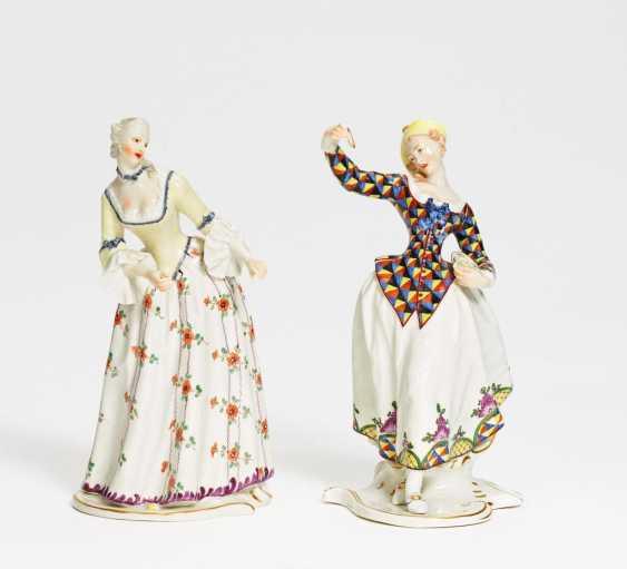Isabella und Lalage aus der Commedia dell'Arte - Foto 1