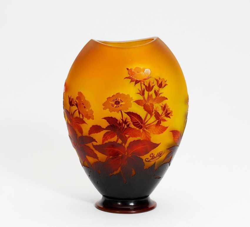 Vase with blossoming Tree - photo 1